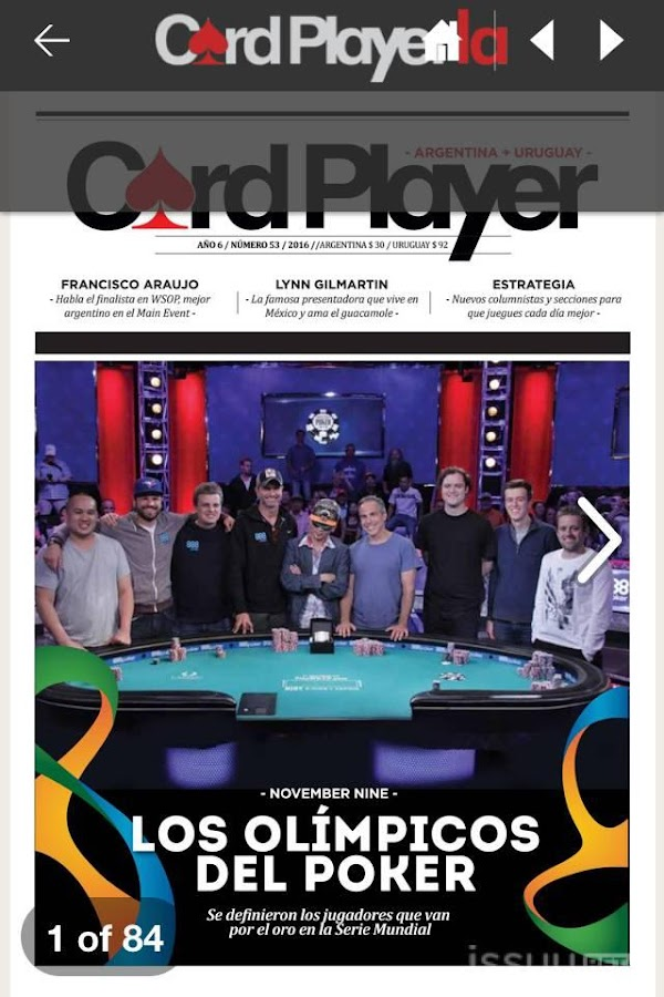 CardPlayerLA Poker- screenshot