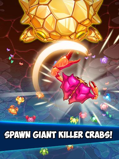 Crab War : Idle Swarm Evolution screenshot 9