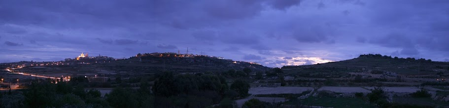 Photo: Mdina In the Sunset