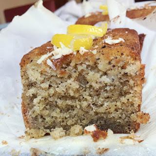 Earl Grey Lemon Cake (gf)