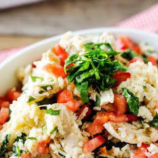Slow Cooker Chicken and Rice with Feta and Spinach Recipe