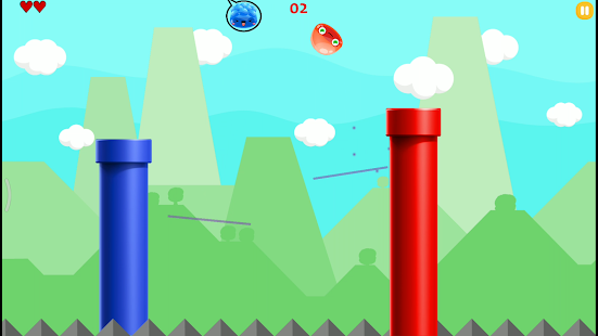 Alien Trampoline Jump Screenshot
