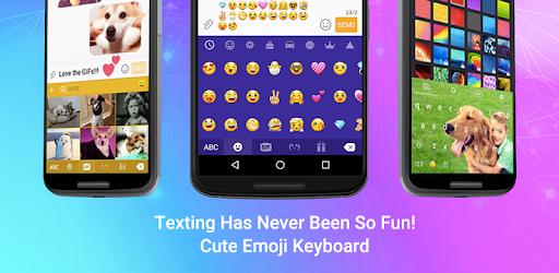 Emoji Keyboard - Cute Emoticon app (apk) free download for Android/PC/Windows screenshot