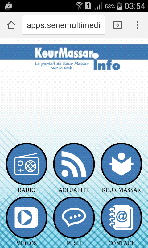 Keurmassar.info- screenshot