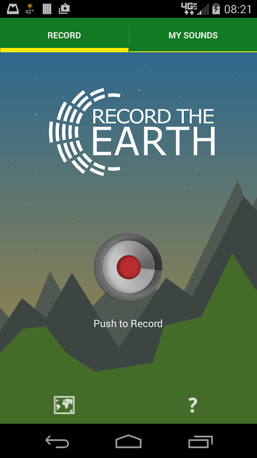 Record the Earth 2- screenshot