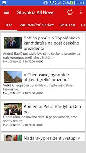 Slovakia All News (Slovensko Správy) - náhled