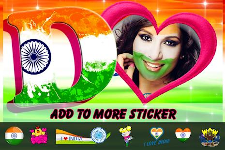 3D Indian Flag Letter photo - náhled