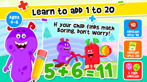 Addition and Subtraction for Kids - Math Games 1.8 screenshots 10
