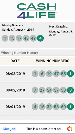 GA Lottery Results App Report on Mobile Action - App Store