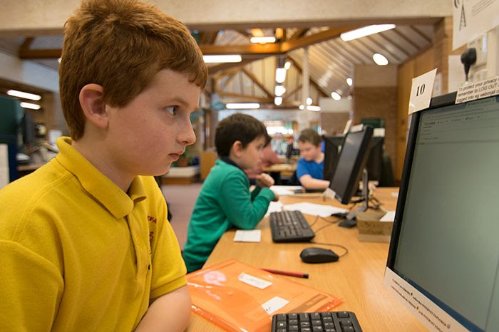 Coders of the future mass at town library