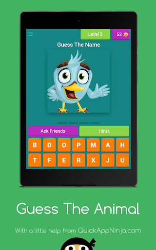 Guess The Animal - Baby Game game (apk) free download for Android/PC/Windows screenshot