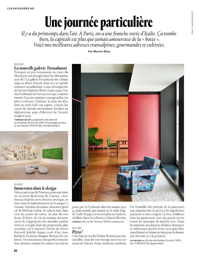 AD - Architectural Digest France- screenshot