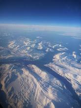 Photo: la côte vue du ciel