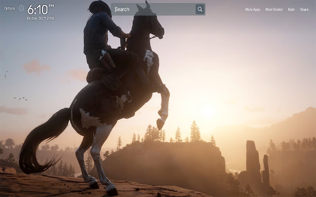 Red Dead Redemption 2 Wallpapers Theme