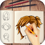 Girl HairStyle Drawing APK icon