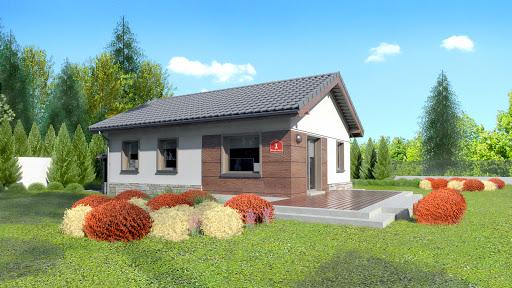 projekt Dom przy Przyjemnej