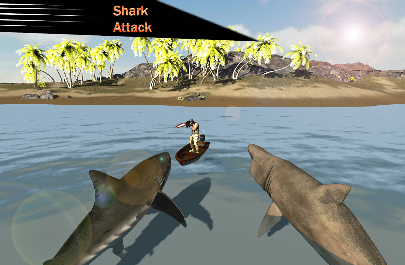 Wild shark fish hunter 2016 android apps on google play for Shark fishing games
