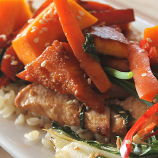 Chicken & Pumpkin Stir Fry Recipe