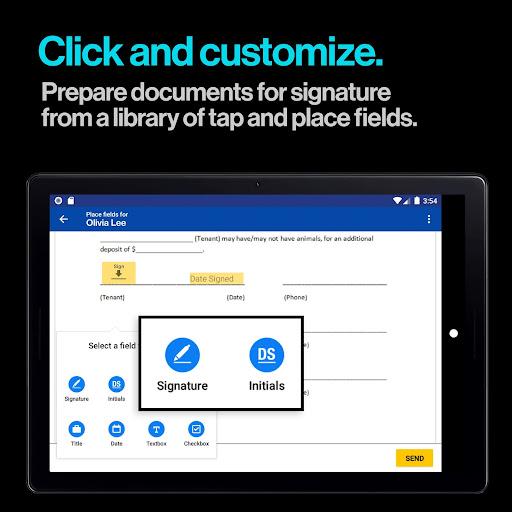 DocuSign - Upload & Sign Docs screenshots 10
