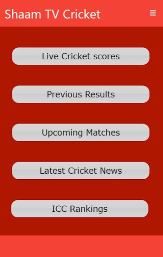 Shaam TV Live Cricket updates 1.8 screenshots 1