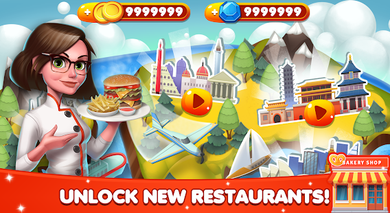 Cooking World – Restaurant Games & Chef Food Fever 8