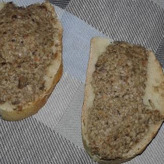 Mushrooms (champignon) Pate.