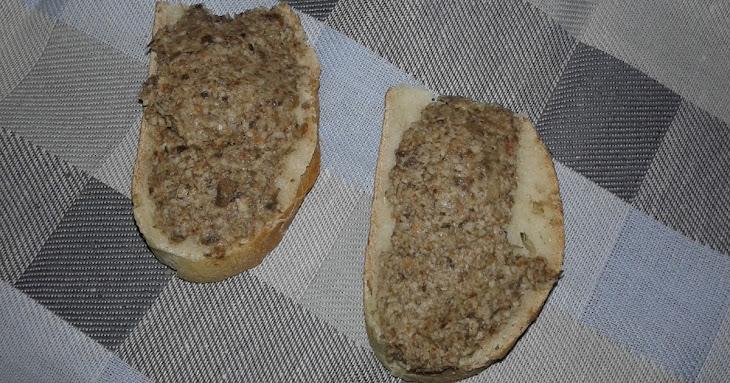 Mushrooms (champignon) Pate