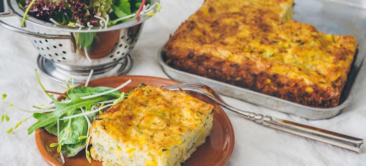 Zucchini and Corn Frittata Recipe