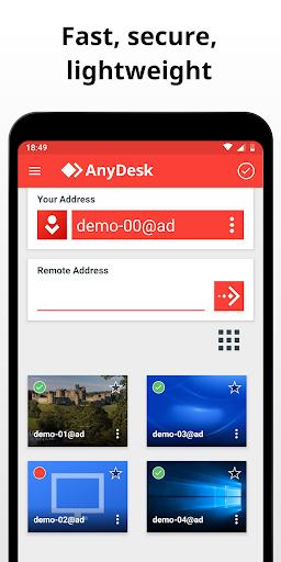 AnyDesk Remote Control 5.2.2 screenshots 2