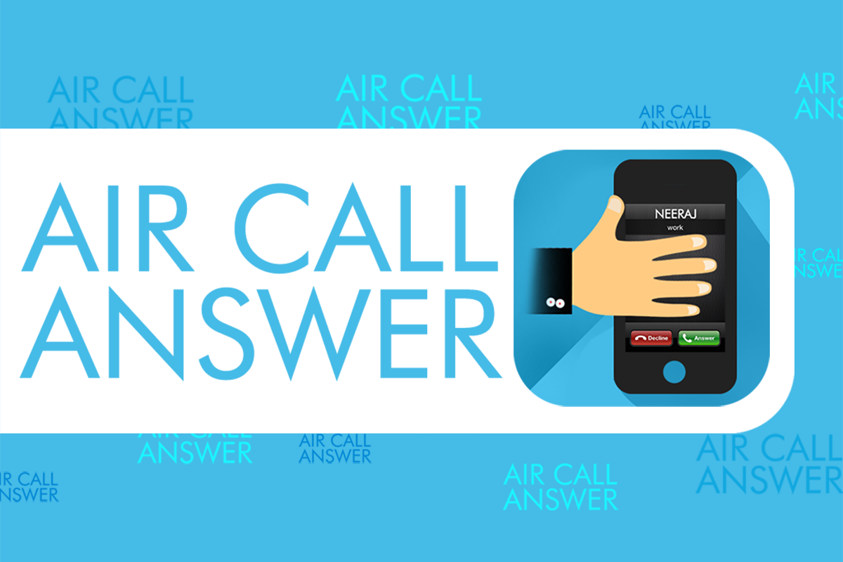Air Call Answer– skärmdump