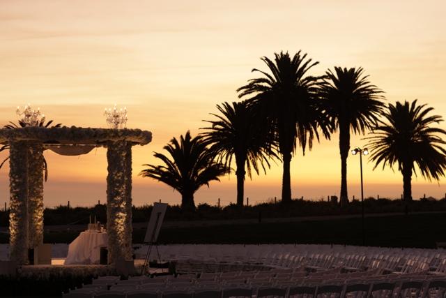 Photo: Sunset Wedding