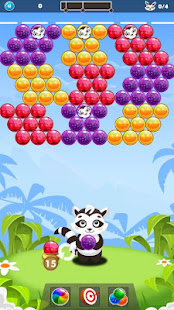 Download Bubble Raccoon New Bubble Shooter For PC Windows and Mac apk screenshot 1