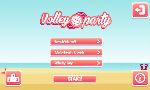Volley Party - náhled