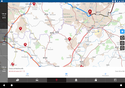 GPS Traffic Speedcam Route Planner by ViaMichelin- screenshot thumbnail