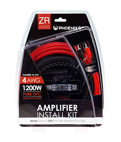 Kampanj! 20mm2 OFC kit with power RCA 5,2m