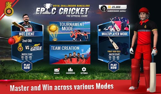 RCB Epic Cricket – The Official Game 9