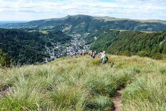 Photo: descente sur Mont Dore