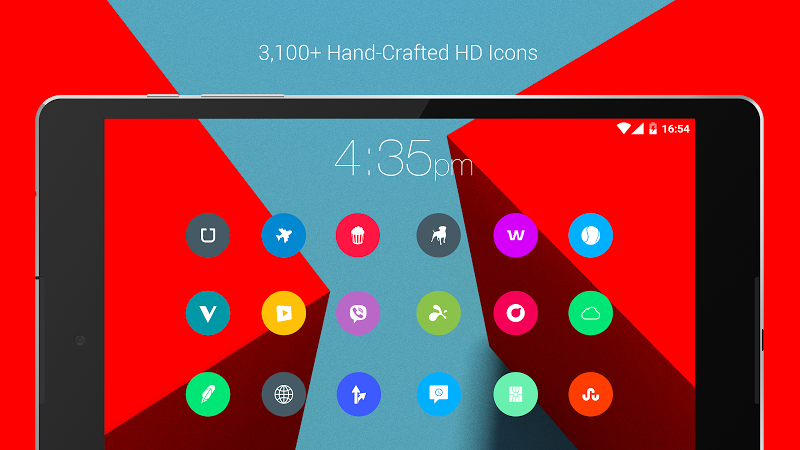 Material Things - Colorful Icon Pack (Pro Version) Screenshot 18