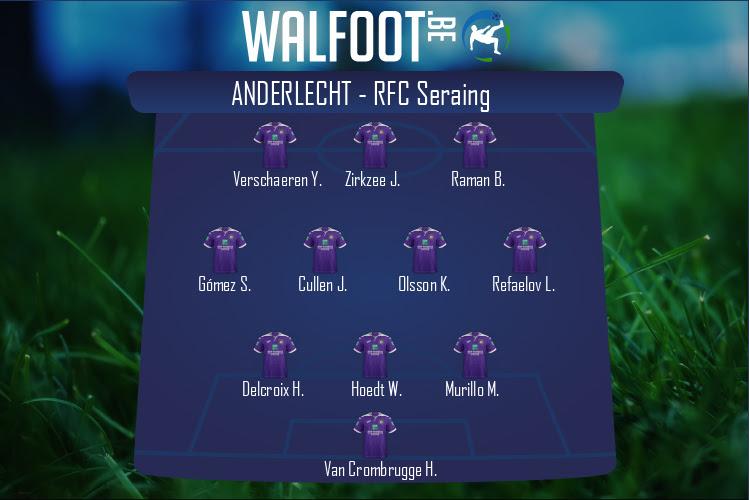 Anderlecht (Anderlecht - RFC Seraing)