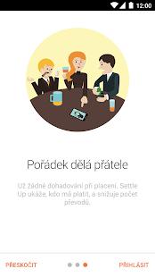 Settle Up - Skupinové výdaje - náhled