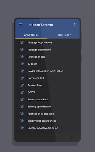 MIUI Hidden Settings 1.3 screenshots 1