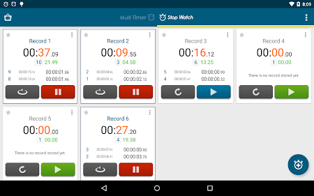 Multi Timer StopWatch 2.3.1 screenshot 257030