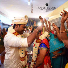 Wedding photographer ranjit sulur (ranjitsulur). Photo of 28.11.2016