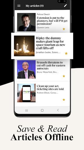 The Times screenshot 2