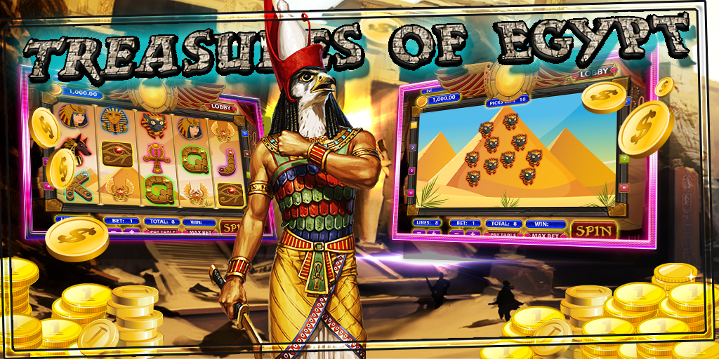 free slots egypt treasure