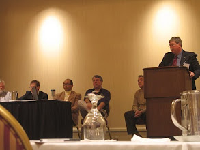 Photo: Angelo Garcia, III of Future Environment Designs joins the PACNY Conference Panel for Questions and Answers.