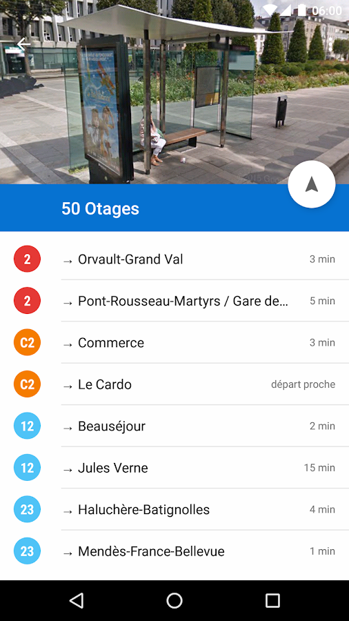Naonedbus - Bus, Tram à Nantes- screenshot