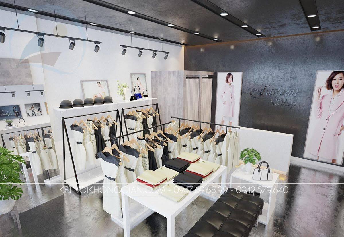 mẫu thiết kế shop thời trang giá rẻ số 1 - 2