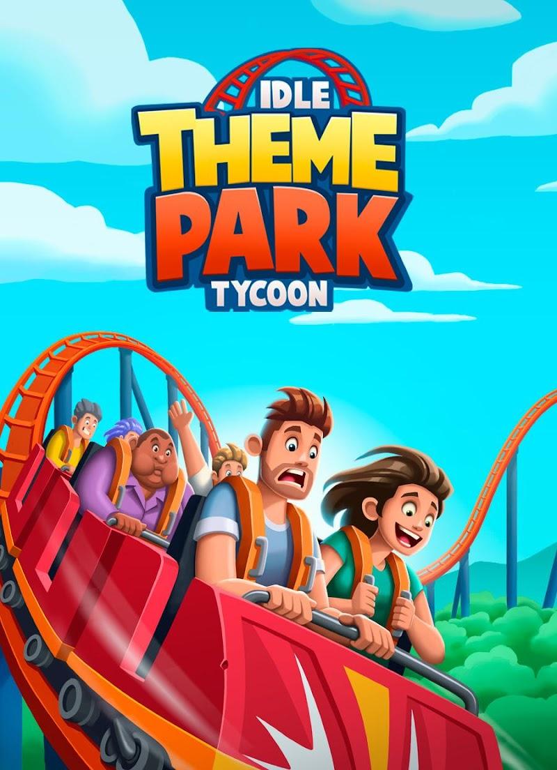 Idle Theme Park Tycoon - Recreation Game Screenshot 0