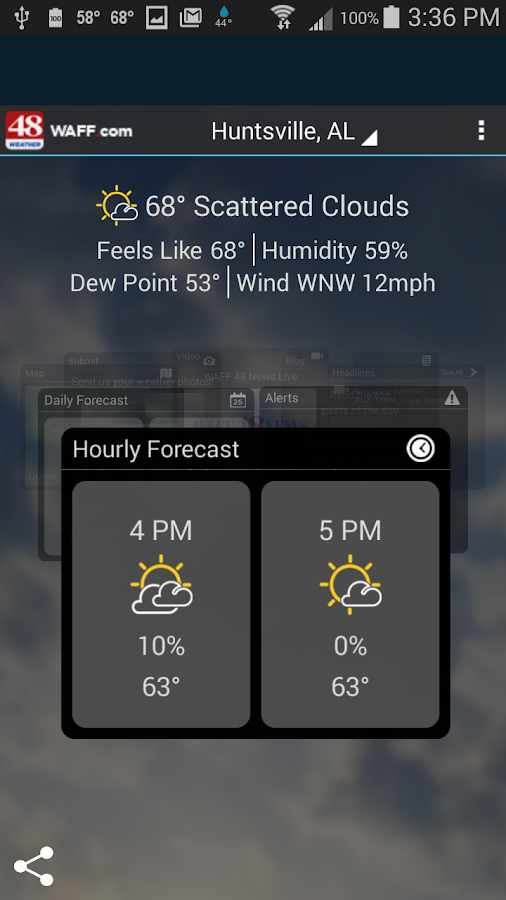 WAFF 48 Storm Team Weather - screenshot